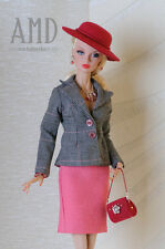 OOAK fashion for Poppy Parker 16''Tullabelle, Kingdom Doll by Anicetta.