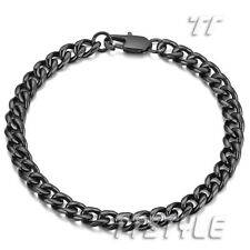 Top Quality TTstyle Stainless Steel Curb Chain Bracelet Length 18cm-21.5cm
