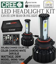 JDM 9006 HB4 6000K 30000K CANBUS CREE COB LED KIT Low Beam Fog Light White Blue