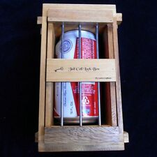 Secret Lock Box III - Jail Cell Puzzle Box holds Beer can, cell phone, gift card
