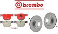 NEW BMW E70 X5 2011-2014 xDrive50i Rear Brake Pads KIT With Rotors Brembo