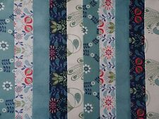20 JELLY ROLL STRIPS COTTON PATCHWORK FABRIC HOME SWEET HOME 22 INCH LONG