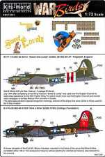 Kits World Decals 1/72 BOEING B-17 FLYING FORTRESS Sweet & Lovely & Nine O Nine