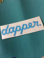 Dapper Blue, Sticker Vinyl Decal Audi Vag Vw Scene Stance Slammed Car Window