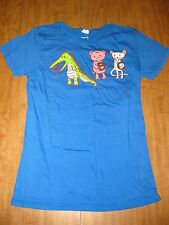"THREADLESS youth med tee ""A is For Jerks"" T shirt alligator & cat Jessica Fink"