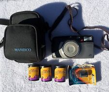 OLYMPUS NEWPIC ZOOM 90 POINT AND SHOOT CAMERA WITH CASE