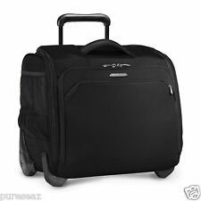 Briggs & riley transcend rolling sac de cabine noir (TU315/carry-on/bagage à main)