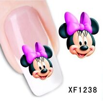 Mickey Mouse Cartoon Nail Art de transferencia de Agua Decoración Pegatinas STZ-036