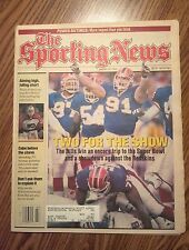 January 20 1992 The Sporting News  Buffalo Bills Going To Super Bowl