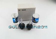 2x 8000k New Blue D2S D2R Xenon HID Bulbs Direct Replacement For HID Headlight