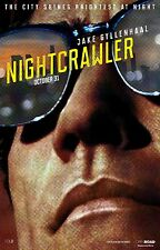 Nightcrawler (2014) Movie Poster (24x36) - Jake Gyllenhaal, Rene Russo, Paxton