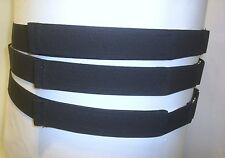 DISABLED HOOK & LOOP TROUSER BELTS WITH METAL ADJUSTERS