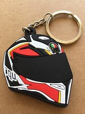 New AGV Helmet keychain Rubber. As Picture. Last One