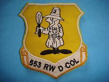Vietnam War Ye Patch, Us 553rd Reconnaissance Wing At Korat