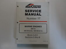MerCruiser #17 Marine Engines GM V8 305 350 CID 5.0L 5.7L Service Manual BOOK 2