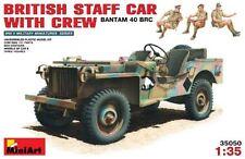 BANTAM 40 BRC JEEP STAFF CAR W/CREW (BRITISH & AUSTRALIAN MKGS) 1/35 MINIART