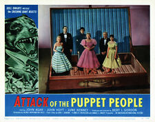 """Attack of the Puppet People, Lobby Card Replica 11x14"""" Photo Print"""