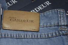 Gardeur 34 X 30.5 Light Weight Blue ULTRA SOFT NEVIO Organic COTTON Jean Reg Fit