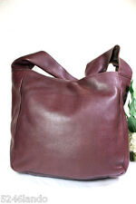 Vintage Jean Paul Gaultier Brown Leather Hobo Tote Shoulder Bag