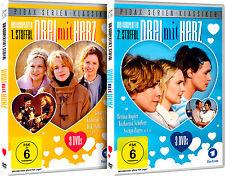 Gesamtedition - Drei mit Herz / komplette Serie auf 6 DVDs Pidax Serien-Klassike