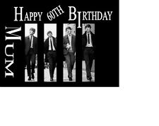 Beatles A5 Personalised Birthday card
