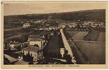 VENEGAZZU' DEL MONTELLO - PANORAMA - VOLPAGO (TREVISO) 1937