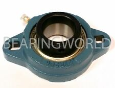 """SAFTD207-23G New 1-7/16"""" Eccentric Locking Bearing with 2 Bolt Ductile Flange"""