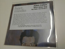 Adam Cohen What Other Guy Promo CD Single