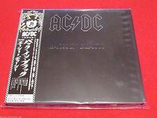 AC/DC - BACK IN BLACK - JAPAN DIGIPAK CD - 2008 SICP-2037