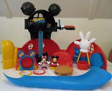 Mickey Mouse Club House Playset +Accessories ~ 2009 Mattel #P9997 Rare!