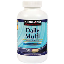 Kirkland Signature Daily Multi 500 Tablets 1000 mg