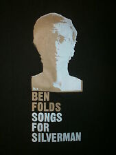 BEN FOLDS T SHIRT Songs For Silverman 5 Five Concert Tour Piano Indie YOUTH MED