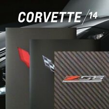 CORVETTE STINGRAY 2014 BOOK + BROCHURES - 2015 Z06 LT4 Z51 CHEVROLET - LT1 COUPE
