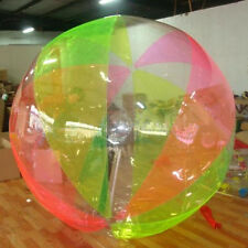 STO New 2M Water Walking Roll Ball Inflatable Zorb Zipper Zorbing Balldancing