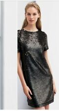 NEXT Black Sequin Dress Brand New has Tags Rrp £50 Size 10 other sizes available