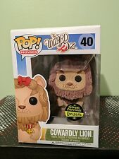 Funko Pop Figure Gemini Exclusive Cowardly Lion Flocked Movies Wizard of Oz