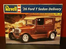 REVELL 1927 Ford T sedan delivery street rod plastic model car kit MONOGRAM AMT