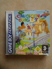 2003//CHICKEN SHOOT 2 COMME NEUF POUR GAME BOY ADVANCE
