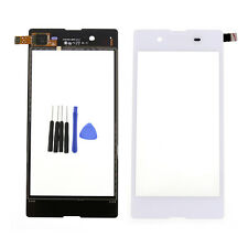 Touch Screen Digitizer Lens Glass For Sony Xperia E3 D2202 D2203 D2206 White + T
