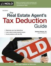 The Real Estate Agent's Tax Deduction Guide by Stephen Fishman (2013, Paperback)