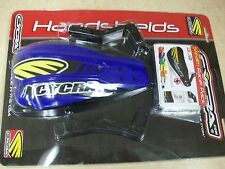 NEW CYCRA BLUE STEALTH PRIMAL RACER PACK HANDGUARDS HAND GUARDS YAMAHA YZ TTR