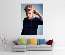 Justin Bieber Géant crois mur art photo imprimé Poster