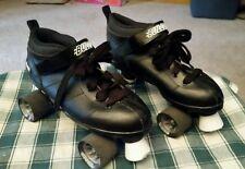 Chicago Mens Bullet Black Speed Skates - Size 9 Roller Derby