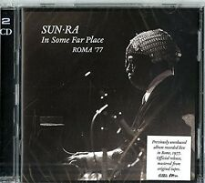 SUN RA - IN SOME FAR PLACE:ROMA 1977  2 CD NEU