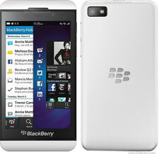 "New Original BlackBerry Z10 16GB White (Unlocked) Smartphone,8MP,4.2"",3G,GPS"