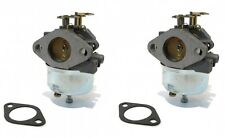 (2) Adjustable CARBURETORS for TECUMSEH Snowblower 7hp 8hp HM70 HM80 Toro Sears