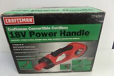 Craftsman Convertible Cordless 18 volt power handle 74291