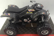 ATV Motor Quad Bike Toy Grey Black Aneka Scale 1:24 Ages 3+ Pull Back Action