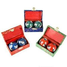 YING YANG CHINESE BAODING HEALTH STRESS RELIEF THERAPY BALLS #AA90 Free Ship