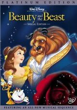 Brand New DVD Beauty and the Beast (Platinum Edition) (1991) Disney Classic